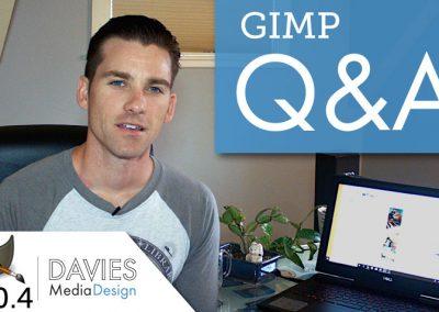Základy GIMP: Odpovědi na vaše otázky GIMP (2018)
