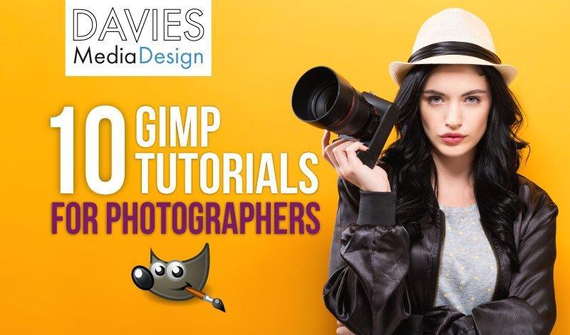 Top 10 GIMP Tutorials for Photographers