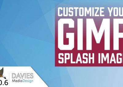 GIMP 2.10 Tutoriál: Přizpůsobte si úvodní obrazovku