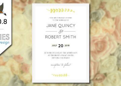 GIMP 2.10 Tutoriál: Design svatební pozvánky pro tisk