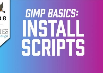 How to Install Scripts in GIMP 2.10