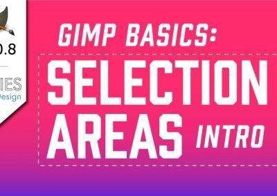 Základy výběrové oblasti GIMP 2.10 In-hloubka Tutorial