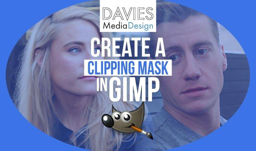 Vágómaszk létrehozása a GIMP 2019-ben