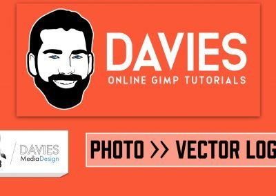 Turn Any Photo Into a Vector Logo in GIMP 2019