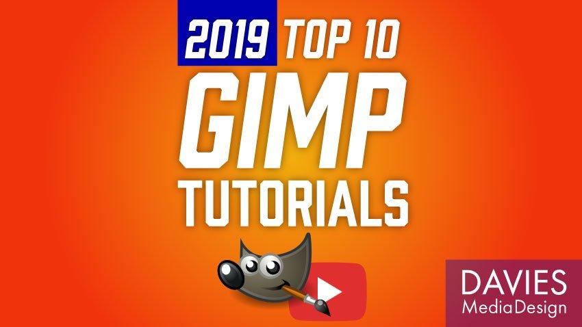 Helstu 10 leiðbeiningar um GIMP fyrir 2019