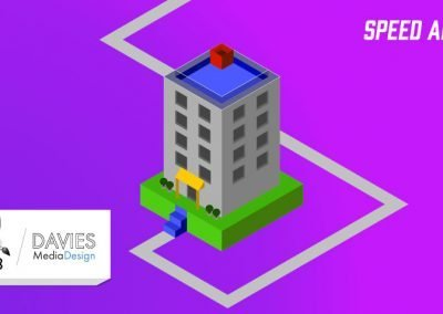 Create a 3D Isometric Building with GIMP 2.10 Speed Art