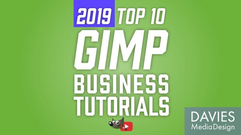 Top 10 GIMP Tutorials for Businesses