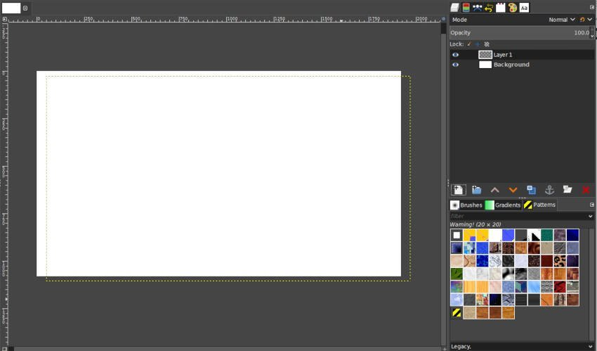 Offset X and Y Example Image GIMP Layers Tutorial