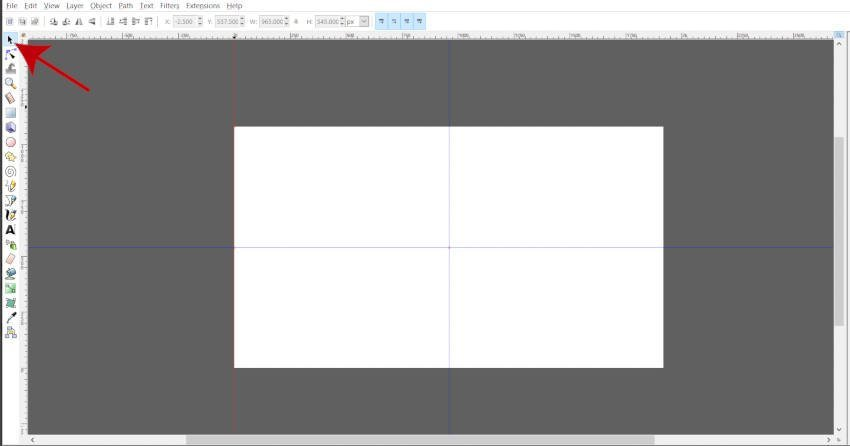 Delete Excess Guides to Create Center Guides Inkscape