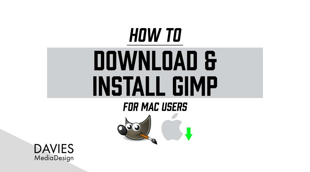 Download and Install GIMP for MAC