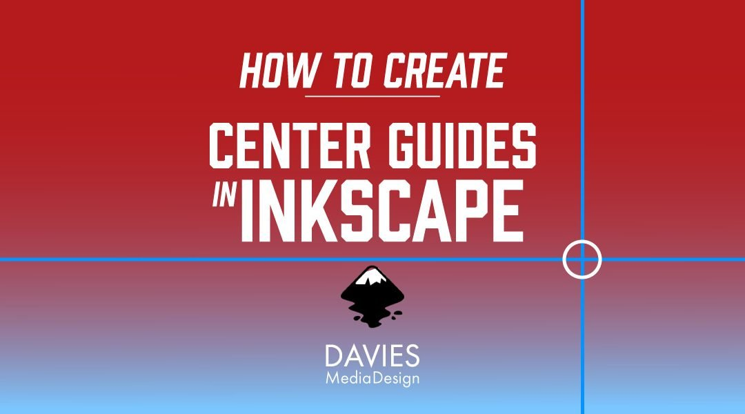 How to Create Center Guides in Inkscape
