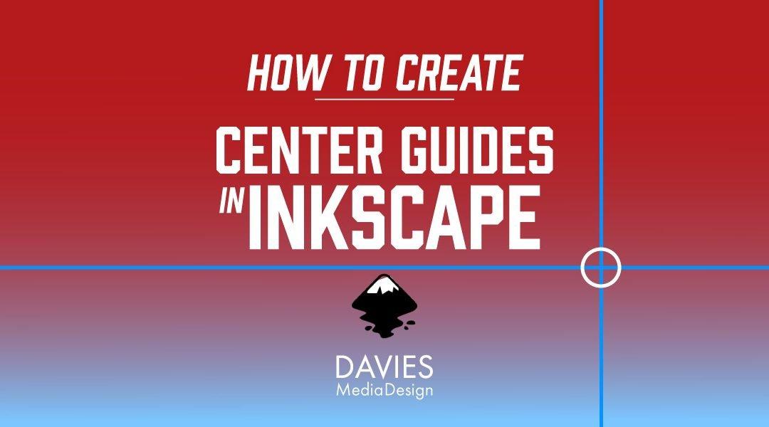 Cómo crear guías de centro en Inkscape