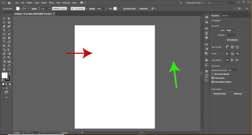 Novi Letter Artboard Illustrator vs Inkscape Tutorial