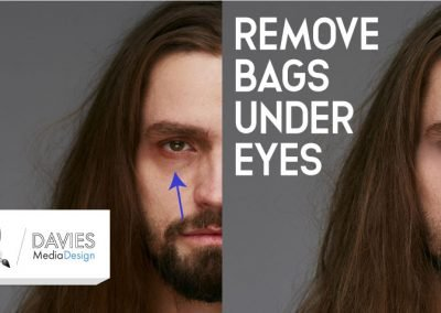 Remove Dark Circles Under Eyes Easily With GIMP