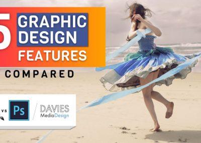 Photoshop vs GIMP: Porovnání funkcí grafického designu 5