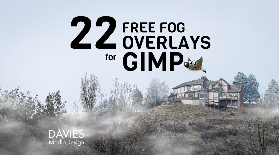 22 ZDARMA překrytí mlhy pro GIMP v HD