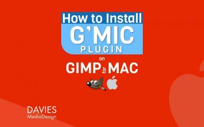 Hvernig á að setja upp G'MIC-QT viðbótina fyrir GIMP á MAC