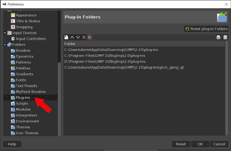 GIMP Plugin Folder Resynthesizer Installation Tutorial