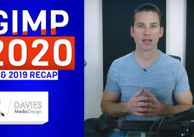 Náhled GIMP 2020 a rekapitulace 2019