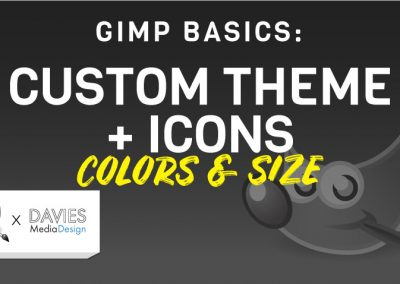 How to Customize the GIMP User Interface 2020