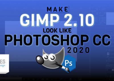 Nechte GIMP 2.10 vypadat jako Photoshop CC 2020