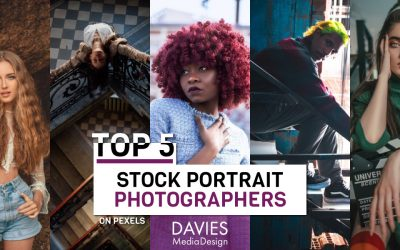 Top 5 Stock Portrait Photographers on Pexels