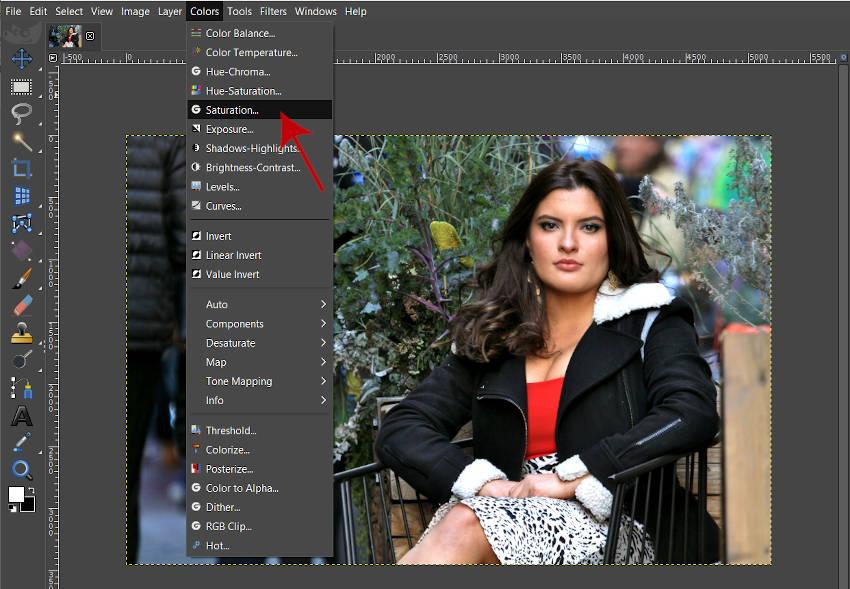 色彩GIMP 2 10 18チュートリアル