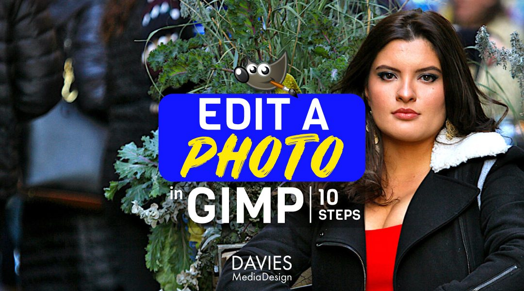 How to Edit a Photo in GIMP (10 Steps)