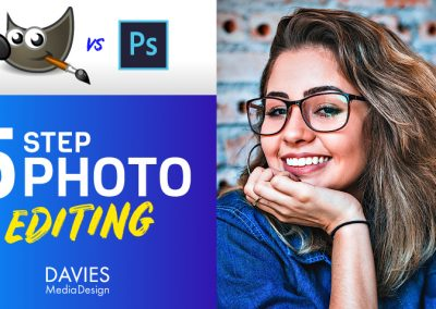GIMP vs Photoshop: 5 Step Photo Editing Compared