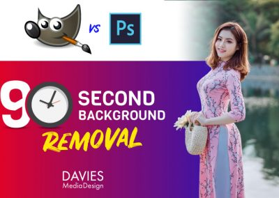 GIMP vs. Photoshop: 90 Second Background Removal ULTIMATE CHALLENGE