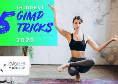 5 skrytých triků GIMP I LOVE pro rok 2020