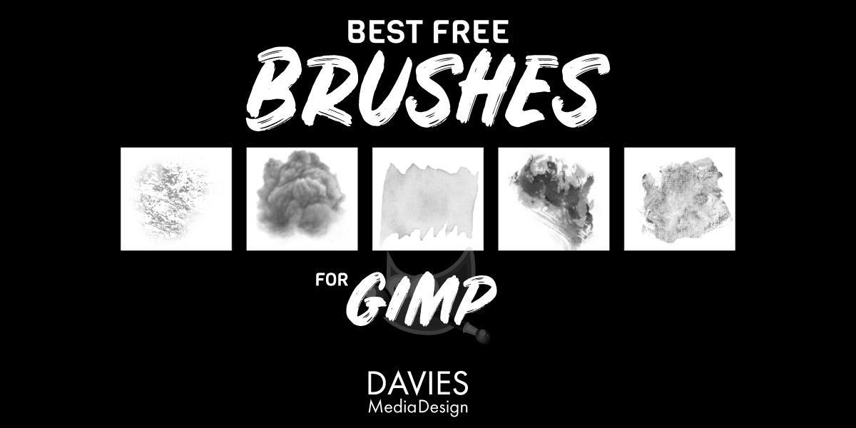 Cele mai bune perii gratuite pentru GIMP 2020