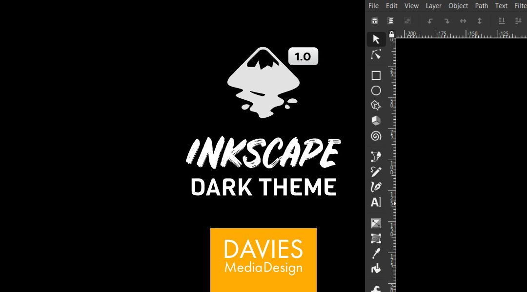 Inkscape 1.0 Dark Theme Setja upp