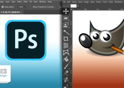 Photoshop vs GIMP: uma comparação completa
