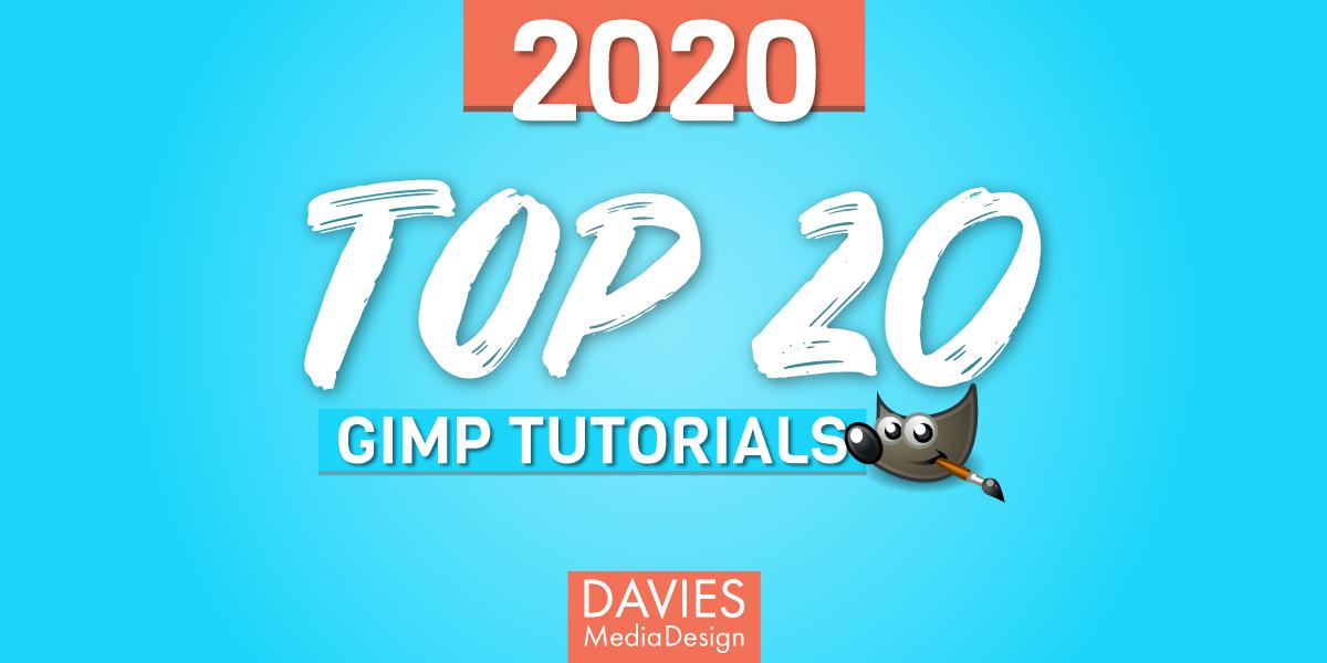 Najważniejsze samouczki 20 GIMP w 2020