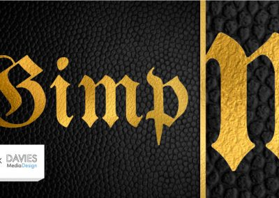 Create Gold Leaf Textures and Realistic Gold Text in GIMP