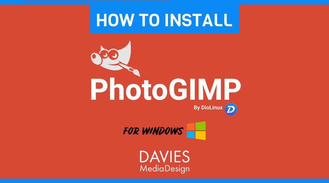 Jak nainstalovat program PhotoGIMP Windows