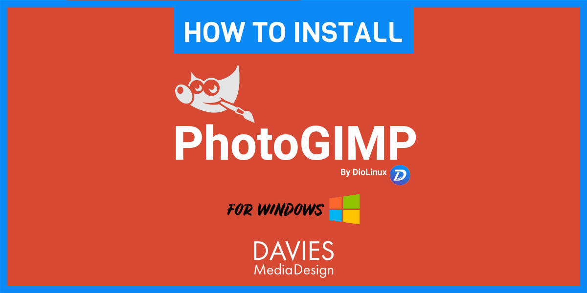 How to Install PhotoGIMP Windows Tutorial