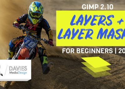 Vrstvy a masky vrstev GIMP 2020 Výukový program pro hloubku GIMP