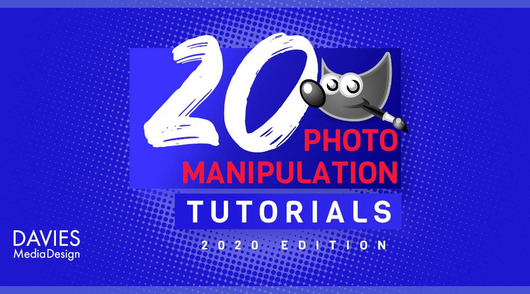 20 výukových programů pro manipulaci s fotografiemi GIMP pro rok 2020