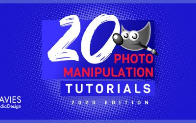 20 GIMP Photo Manipulation Tutorials för 2020