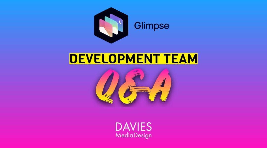 Preguntas y respuestas con el equipo de desarrollo del editor de imágenes de Glimpse