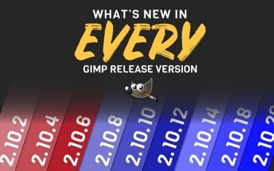 What's New in Every GIMP 2.10 Release Version