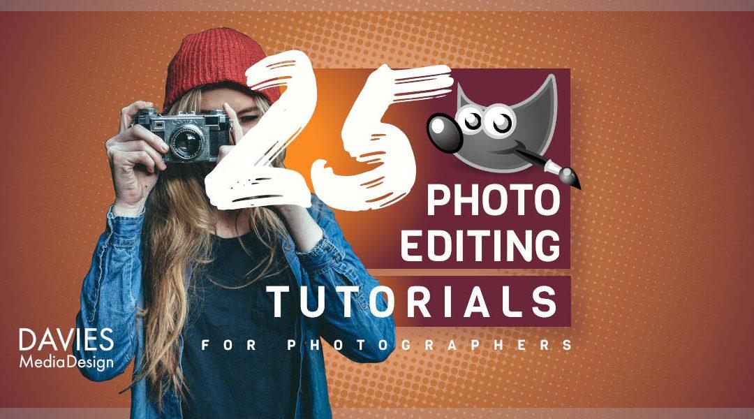25 урока за редактиране на снимки на GIMP за фотографи