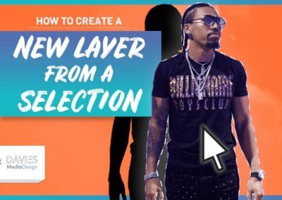 Create a New Layer from a Selection in GIMP