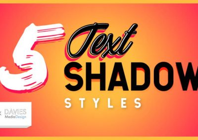 5 Easy and Awesome Text Shadow Effects in GIMP