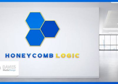 GIMP Logo Design Tutorial | Honeycomb Logic Modern Logo
