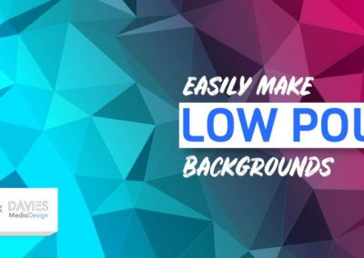EASILY Make Low Poly Backgrounds in GIMP