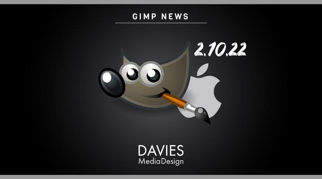 GIMP 2.10.22 fyrir MAC er loksins kominn