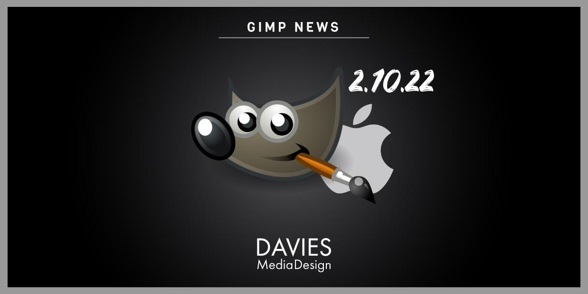 GIMP 2.10.22 Stáhnout pro MAC